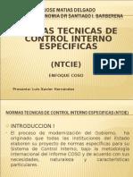 NORMAS TECNICAS DE CONTROL INTERNO ESPECIFICAS