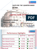 Central Bank of India Analyst Presentation Reviused