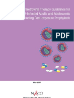 1. Anti Retro Viral Therapy Guidelines for HIV-Infected Adults and Adolescents Including Post-Exposure