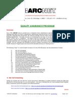 Quality Assurance Program Developed by ARCNET