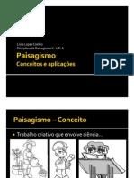 Paisagismo - Conceito e Aplicacoes
