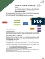 Resumen Expo- Concepción o elección del diseño de investigación