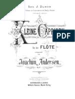 Andersen, J.J. - 26 Pequenos Caprichos Op. 37