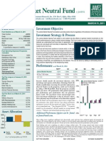 James Advantage Mkt Neutral Fund