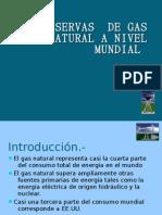 Reservas de Gas Natural a Nivel Mundial