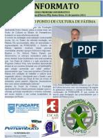 O PRIMEIRO JORNAL DO DISTRITO DE FÁTIMA - PERNAMBUCO