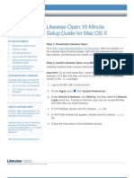 Likewise Open Version 5.0 Quick Install Guide for Mac OS