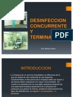 Desinfeccion Recurrente y Terminal