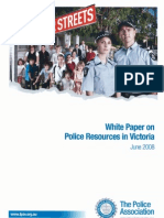 White Paper on Police Resources
