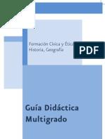 Guia Didactica Multigrado Fcye