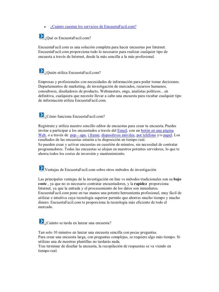 Atractivo Plantilla De Encuestas Foto - Ejemplo De Colección De ...
