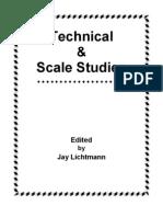 ESTUDOS - Trompete - Desenvolvimento da Técnica - Jay Lichtmann