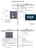 Perbandingan Komponen Lentur ASD Dan LRFD