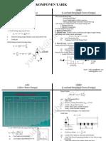 Perbandingan Komponen Tarik ASD Dan LRFD