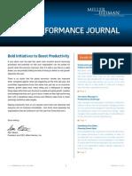 Miller Heiman Sales Performance Journal