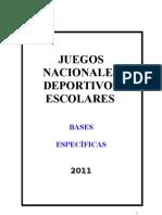 Bases Especificas Jnde 2011 A