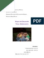 Areas de Desarrollo a y D.