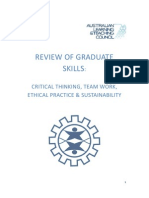 Review of Graduate SkillsOZ