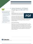 Improve SAP Security with Active Directory Logon