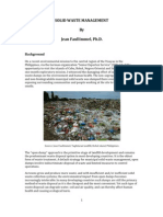 Solid Waste Management 2011