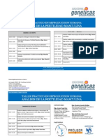 Programa Curso de Biotecnologia Reproductiva