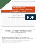 Tema 5 1 Ley Para Volumenes de Control TERMO 1