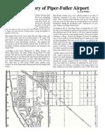 Piper-Fuller Airport History