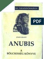 Joan Grant-Anubis-A bölcsesség könyve-óegyiptomi parapcihologia