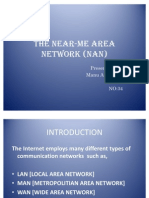 The Near-Me Area Network (NAN) Ppt