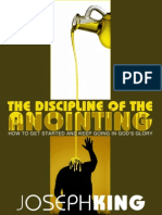 The Discipline of the Anointing
