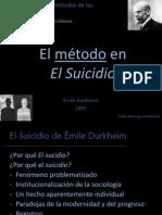 El metódo el El Suicidio