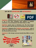 026 - Kg - AspGrtame or Nutrasweet
