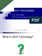 Java Technologies 1