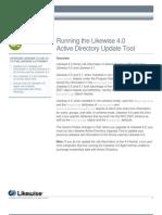 Likewise Enterprise Version 4.0 Update Tool