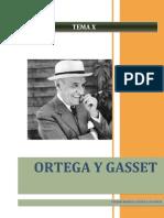 La filosofía de J. Ortega y Gasset