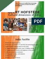 Cultural Dimensions - Geert Hofstede - India