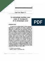Alegrett - Antropologia maritima