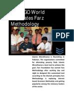The NGO World Replicates Farz Islamic Microfinance Methodology
