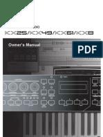 Yamaha KX 61 Manual