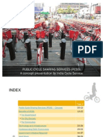 Public Cycle Sharing Services - A Concept Presentation by India Cycle Service