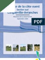2x2 voies Longueville Avranches - dossiers + résultat de concertation 2004 / 2003 / 2001
