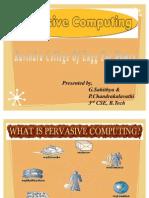 Pervasive Computing Ppt