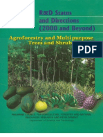 R&D Status on Agroforestry and Multipurpose Trees and Shrubs