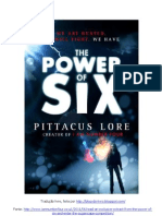 THE POWER OF SIX 1º Capítulo pt-Br