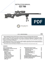 CZ 750 Sniper - Instruction Manual_en