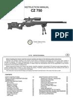 CZ 750 Sniper - Instruction Manual_en