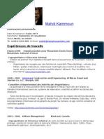 Cv_MahdiKammoun_Fr