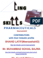 Selling Skills (Pharmaceuticals)