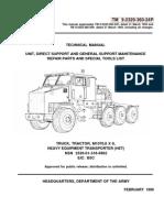 TM-9-2320-360-24P M1070 8x8 HET