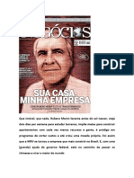 Reportagem Rubens Menin - Sua Casa Minha Empresa
